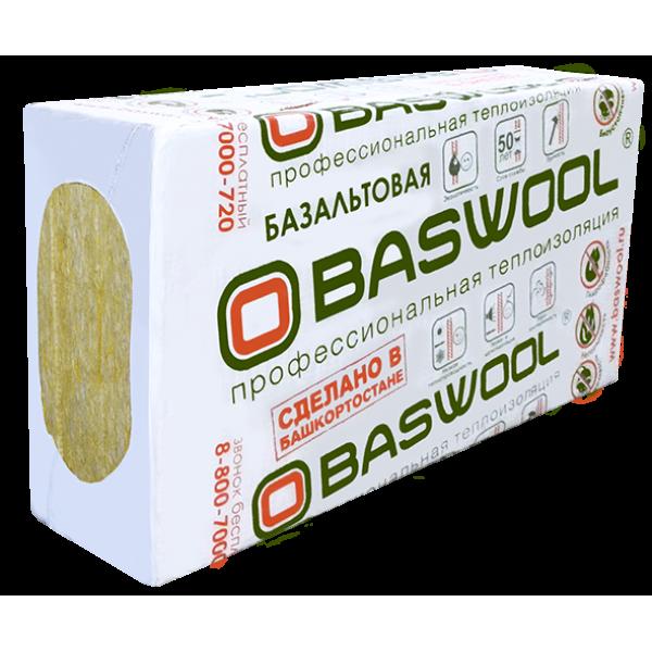 Базальтовый утеплитель Baswool Лайт 45 (1200*600*50, 0.216 куб м)