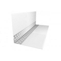 Профиль угловой (Угол ПВХ) с армирующей сеткой 10*15*2500см