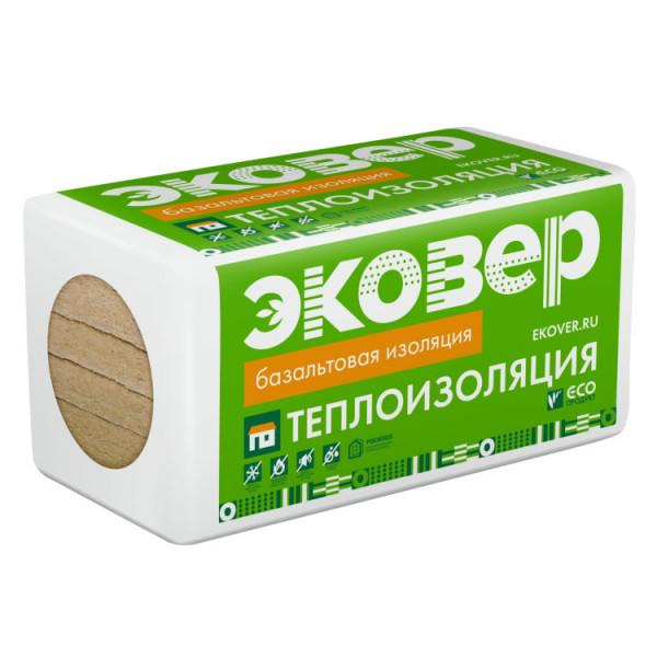 Минераловатный утеплитель Эковер Лайт Универсал 50 мм 1000х600х50 (0,24 м3) 8 плит