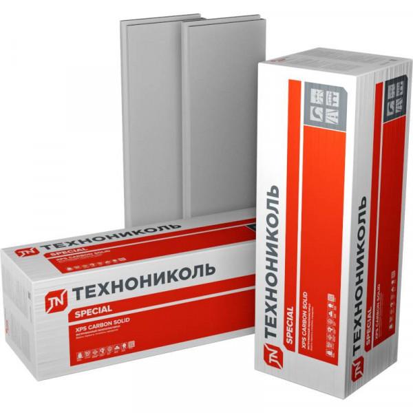 "Экструдированный пенополистирол (XPS) XPS Технониколь CarboN SOLID 500 2400х600х50-L ""Тип А"""