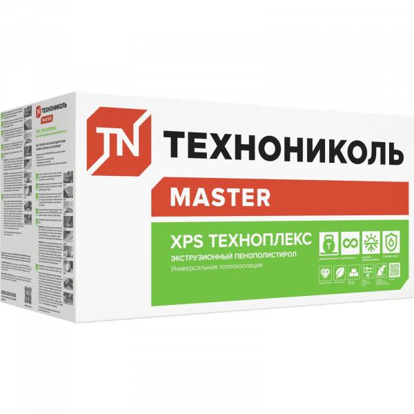 Экструдированный пенополистирол (XPS) XPS Технониколь Техноплекс 1200x600x20 мм
