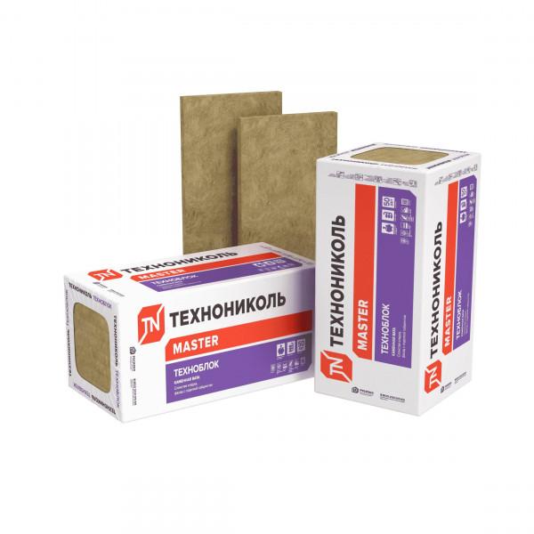 Базальтовая вата Технониколь Техноблок Стандарт 1200x600x60 мм 10 плит