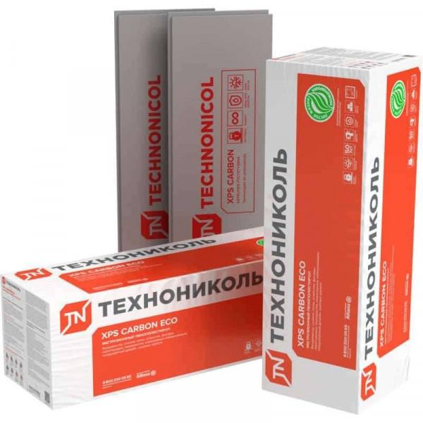 Экструдированный пенополистирол (XPS) XPS Технониколь Carbon Eco SP 2360x580x100 мм L-кромка