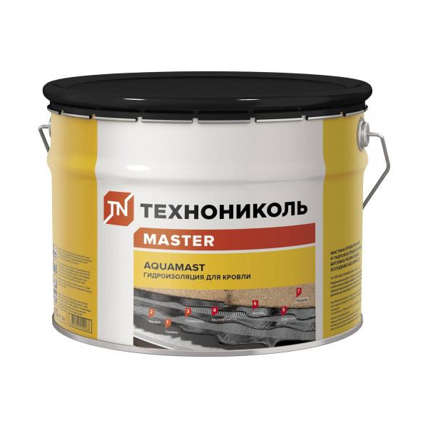 Мастика битумно-резиновая AquaMast, ведро 10 килограмм