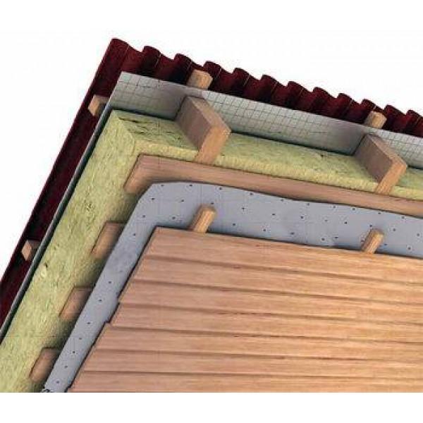 Влаго и пароизоляционная пленка для защиты теплоизоляции кровли Ондулайт D