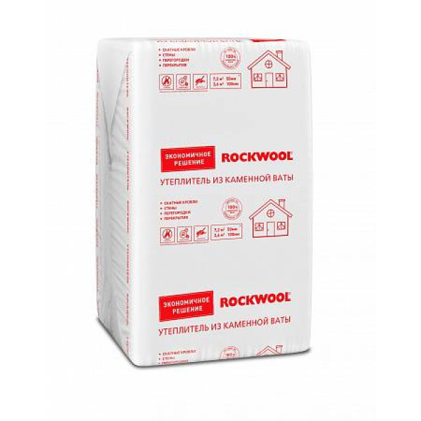 Утеплитель Rockwool 1000 х 600 х 50