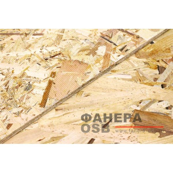 Плита OSB-3 12мм 1220х2440 мм Kronospan