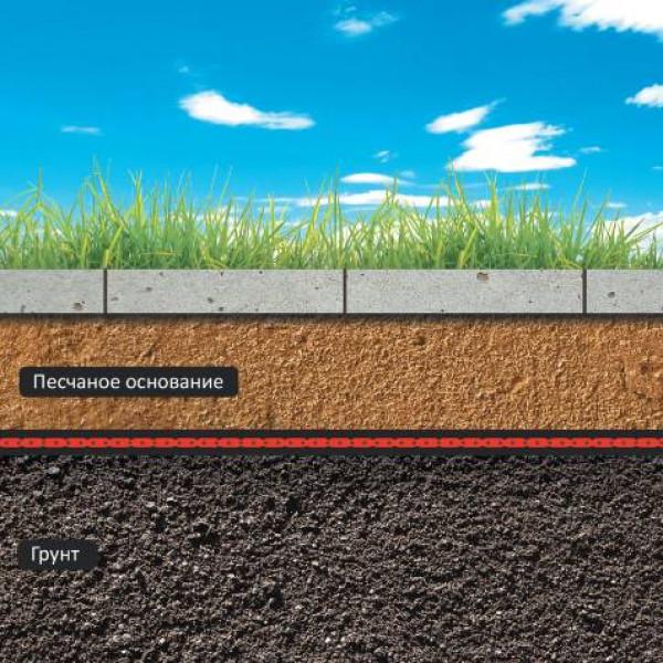 Пленка для защиты отпроникновения корней растений вподземные коммуникации и дренажные системы Ондутис Ландшафт