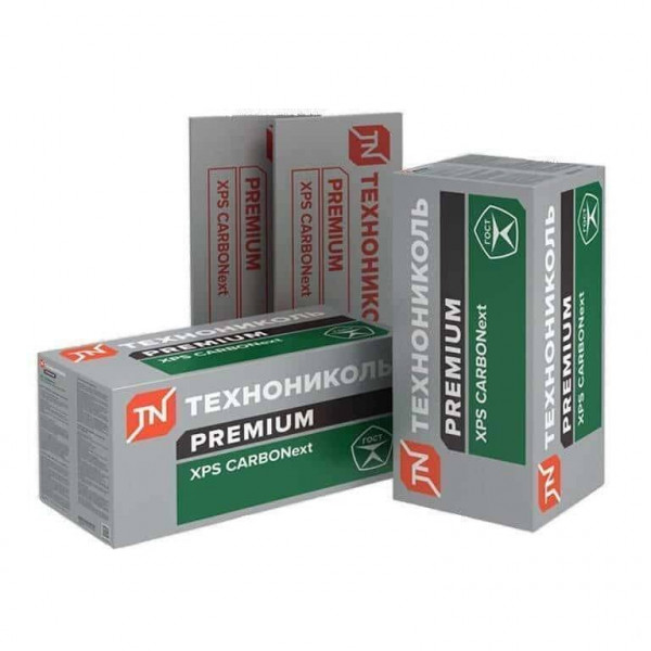 Экструдированный пенополистирол (XPS) ХРS Технониколь CarboNext 300 RF 2380х580х80-L