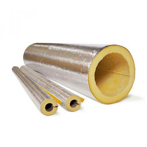 Isotec Climpipe Section Alu2 Цилиндры теплоизоляционные из стекловаты