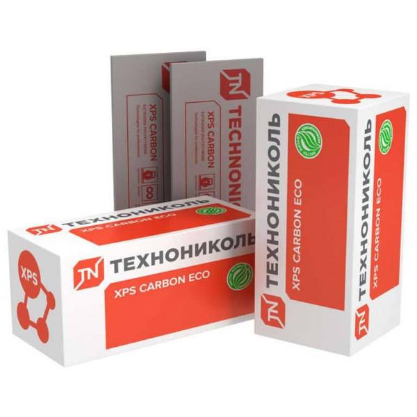 Экструдированный пенополистирол (XPS) XPS Технониколь Carbon Eco 1180x580x40 мм L-кромка