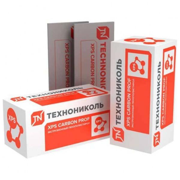 Экструдированный пенополистирол (XPS) XPS Технониколь Carbon Prof 1180x580x40 мм L-кромка