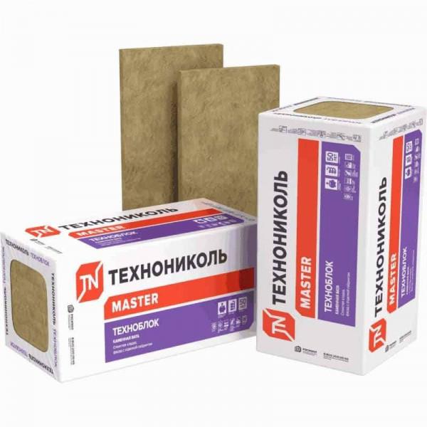 Базальтовая вата Технониколь Техноблок Стандарт 1200x600x110 мм 3 плиты