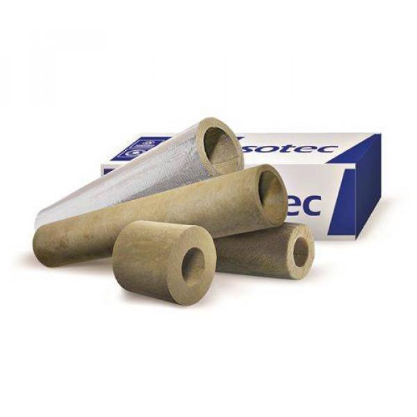 Isotec Shell Al Цилиндры минераловатные вырезные кашированные