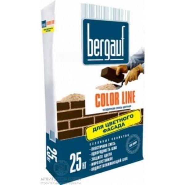 Bergauf Color Line кладочная смесь 25 кг