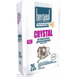 Bergauf Crystal декоративная штукатурка камешковая 25 кг