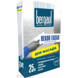 Bergauf Dekor Fasad декоративная штукатурка Короед 25 кг