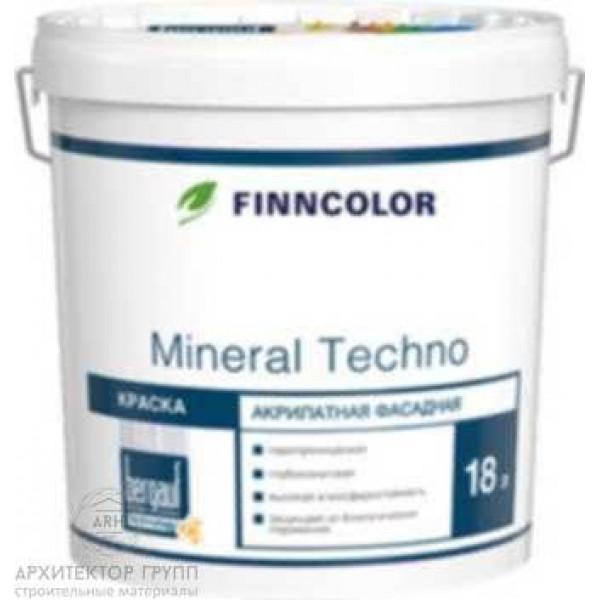 Bergauf Finncolor Mineral Techno краска 18 кг
