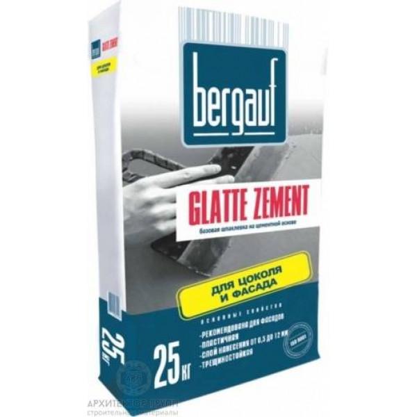 Bergauf Glatte Zement шпаклевка базовая цементная 25 кг