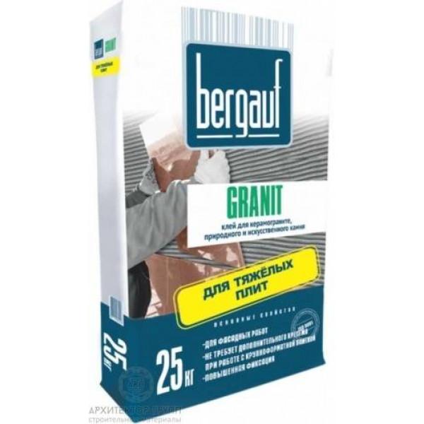 Bergauf Granit клей для камня и керамогранита 25 кг