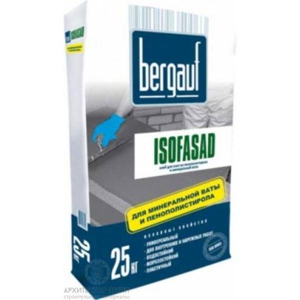 Bergauf Isofasad клей для пеноблоков 25 кг