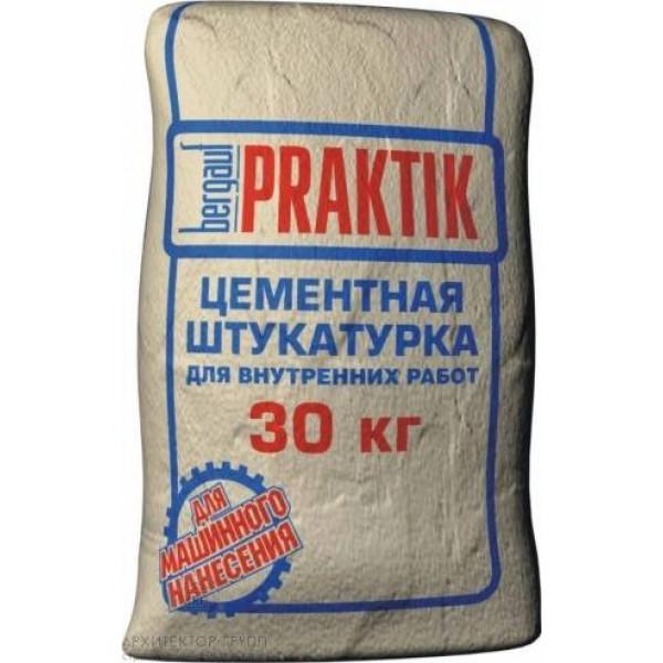 Bergauf Praktik цементная штукатурка для внутренних работ, 30 кг