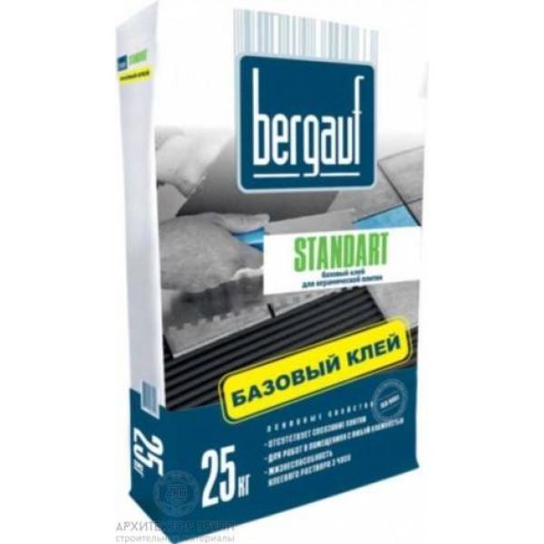 Bergauf Standart клей для плитки базовый 25 кг