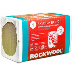 Rockwool Акустик Баттс Баттс 1000 х 600 х 50