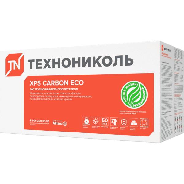 Экструдированный пенополистирол (XPS) XPS Технониколь Carbon Eco 1180x580x50 мм L-кромка