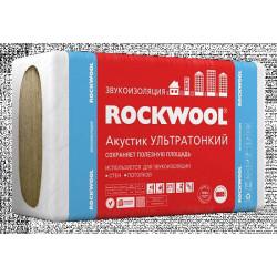 Rockwool Акустик Баттс ультратонкий 1000 х 600 х 27