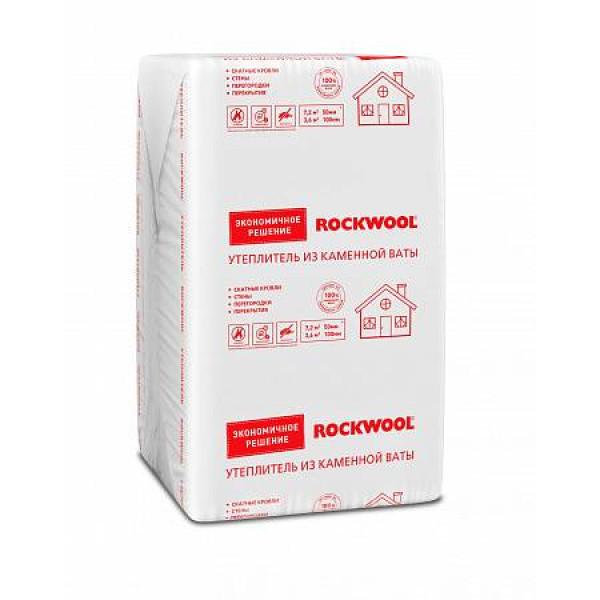 Утеплитель Rockwool 1000 х 600 х 100