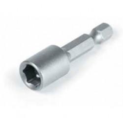 Бита шестигранная магнитная с пружинным зажимом FG, 8*45 мм