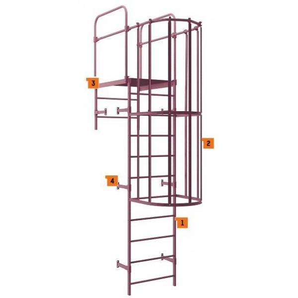 Аварийная лестница П1-2