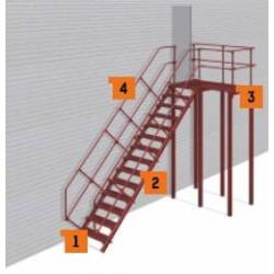 Аварийная лестница П-2